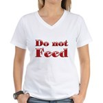 Lose Pounds with this Women's V-Neck T-Shirt