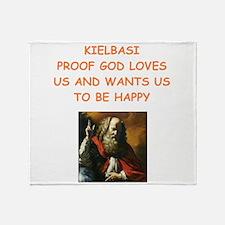 kielbasa Throw Blanket