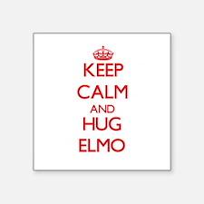 Keep Calm and HUG Elmo Sticker
