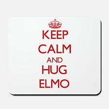 Keep Calm and HUG Elmo Mousepad