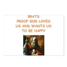 brats Postcards (Package of 8)