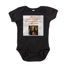 brats Baby Bodysuit