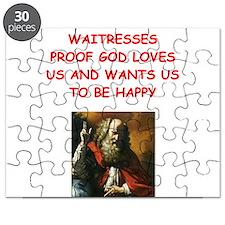 waitress Puzzle