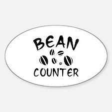 Bean Counter Sticker (Oval)