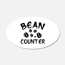 Bean Counter 22x14 Oval Wall Peel