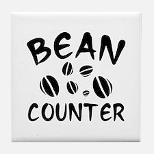 Bean Counter Tile Coaster