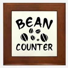 Bean Counter Framed Tile