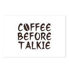 Coffee Before Talkie Postcards (Package of 8)