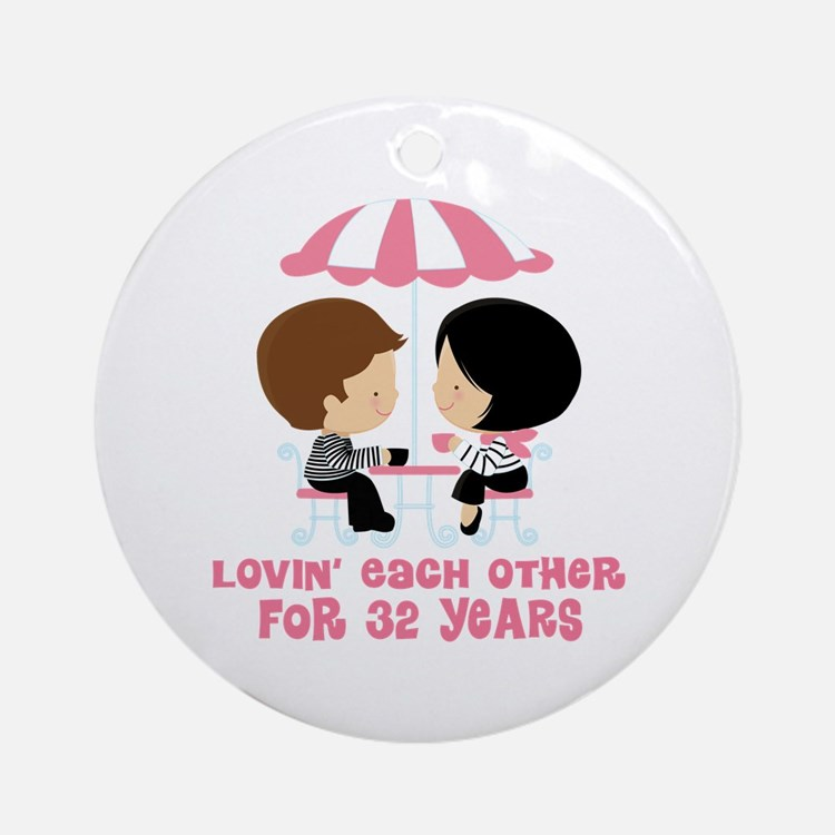 32 Wedding Anniversary Gifts: Married 32 Years Gifts & Merchandise