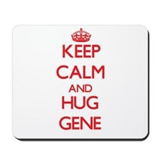 Keep Calm and HUG Gene Mousepad