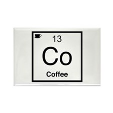 Co Coffee Element Rectangle Magnet