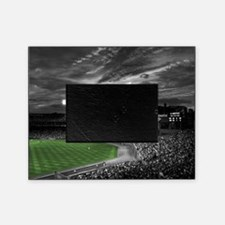 Baseball Field At Night Picture Frame