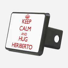 Keep Calm and HUG Heriberto Hitch Cover