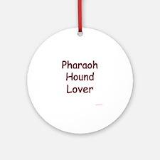 Pharaoh Hound Lover Ornament (Round)