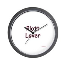 Plott Lover Wall Clock