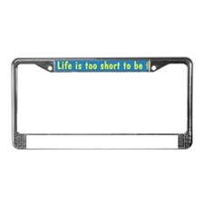 Jobless New Path License Plate Frame