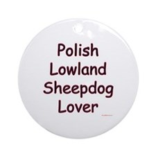 Lowland Lover Ornament (Round)