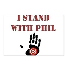I STAND WITH PHIL Postcards (Package of 8)
