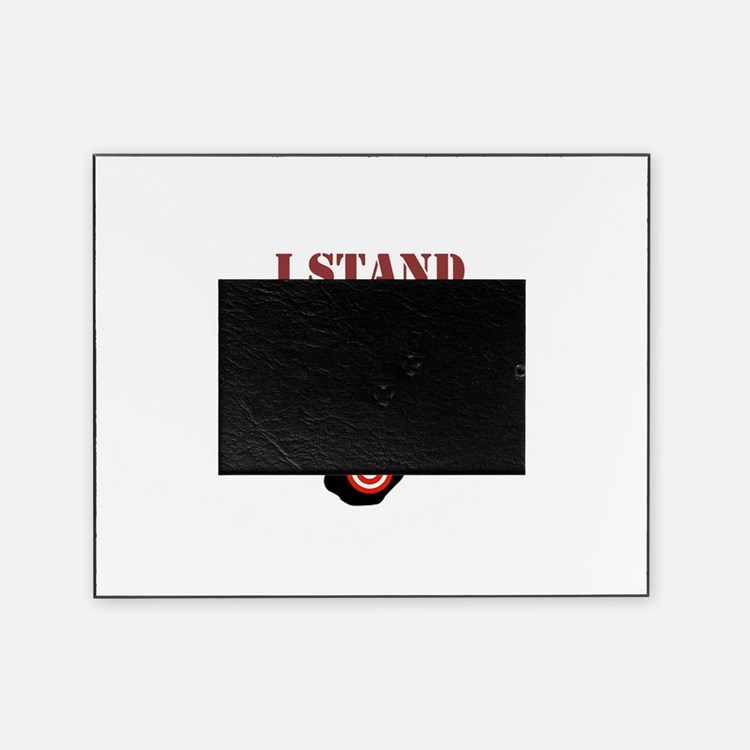 I STAND WITH PHIL Picture Frame