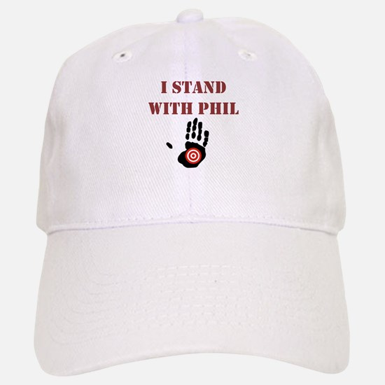 I STAND WITH PHIL Baseball Baseball Baseball Cap