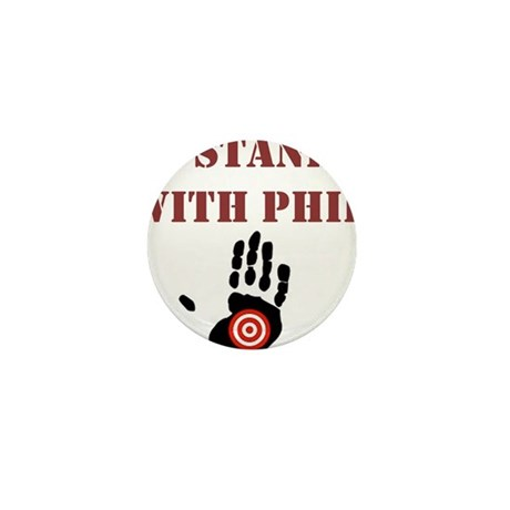 I STAND WITH PHIL Mini Button (100 pack)