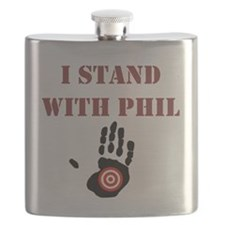 I STAND WITH PHIL Flask