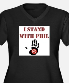 I STAND WITH PHIL Plus Size T-Shirt
