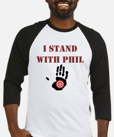 I STAND WITH PHIL Baseball Jersey