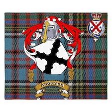 King Duvet Anderson Family Name +Scottish Crest