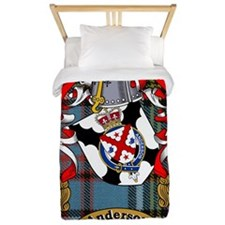 Twin Duvet Anderson Family Name