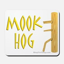 Wing Chun Mook Hog Mousepad