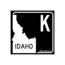 K Highway Sign White