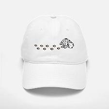Muddy Dalmatian Baseball Baseball Cap