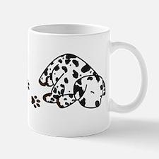Muddy Dalmatian Mug