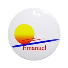 Emanuel Ornament (Round)