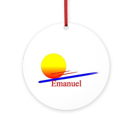 Emanuel Ornament (Round)