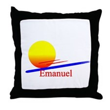 Emanuel Throw Pillow