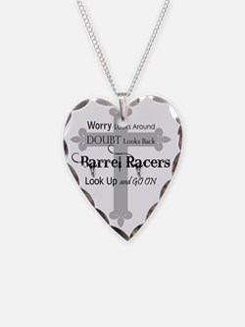 Barrel Racing design Necklace