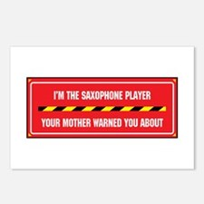I'm the Saxophone Postcards (Package of 8)