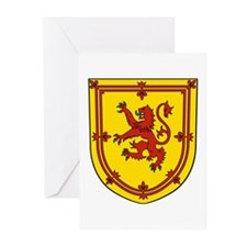 Royal Arms Scotland Greeting Cards (Pk of 10)