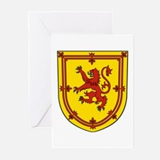 Royal Arms Scotland Greeting Cards (Pk of 10)