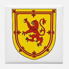 Royal Arms Scotland Tile Coaster
