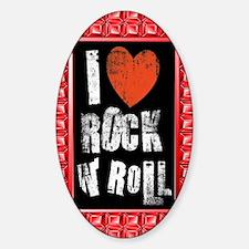 I Love Rock n roll Decal