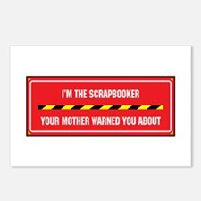 I'm the Scrapbooker Postcards (Package of 8)