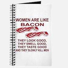 Women Are Like Bacon Journal