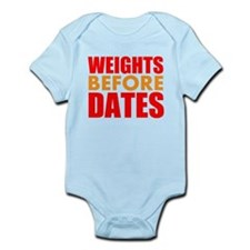 Weights Before Dates Body Suit