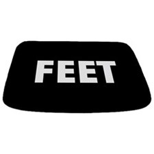 Black Feet Bathmat