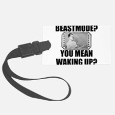 Overly Manly Man BeastMode Luggage Tag