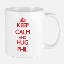 Keep Calm and HUG Phil Mugs