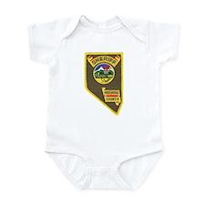 Pershing County Sheriff Infant Bodysuit